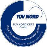 TÜV Nord Zertifikat Leonberg