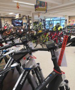 Inventur-Verkauf, reduzierte E-Bike