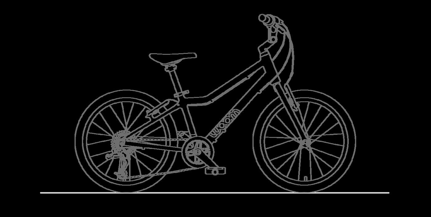 Woom-4 Kinderfahrräder